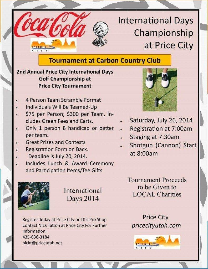 Sign Up Now for the International Days Golf Championship – ETV News