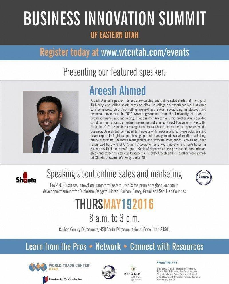 Business-Innovation-Summit-of-Eastern-Utah-Areesh-Ahmed-Flyer.jpg