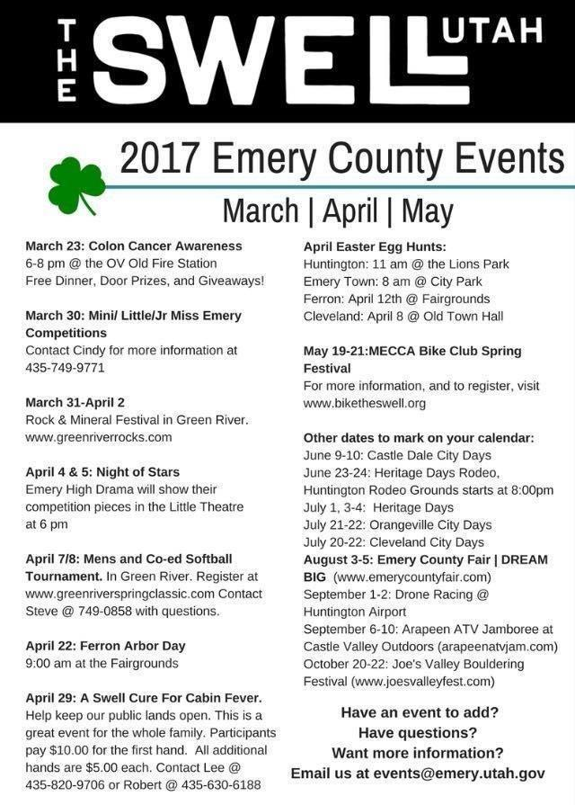 Gear Up for a Busy Spring Season in Emery County – ETV News