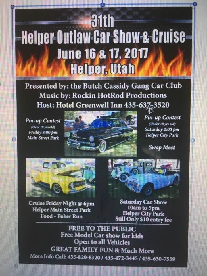 Outlaw Car Show Coming To Helper Etv News