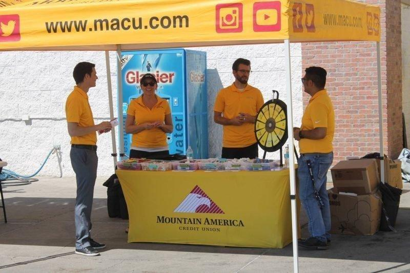 Mountain America Credit Union Greets Community With Fun