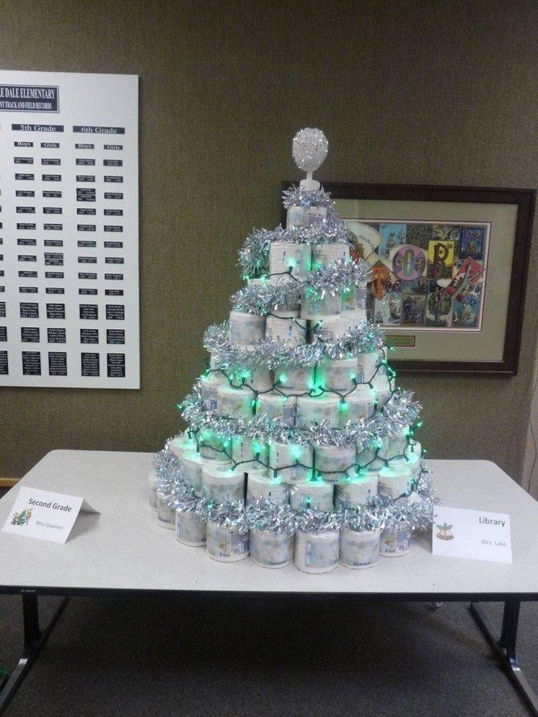 Castle Dale Elementary\'s Non-Traditional Christmas Tree Festival ...