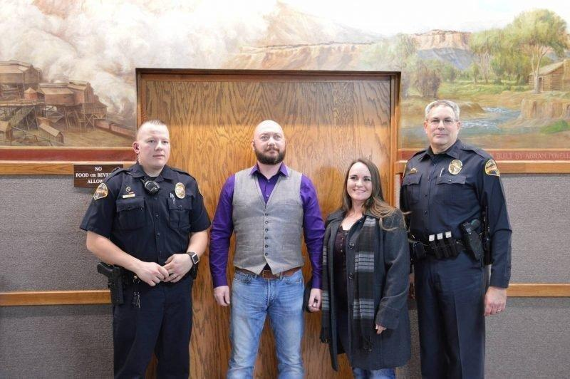 Price City Police Officers Receive Medal of Meritorious Service