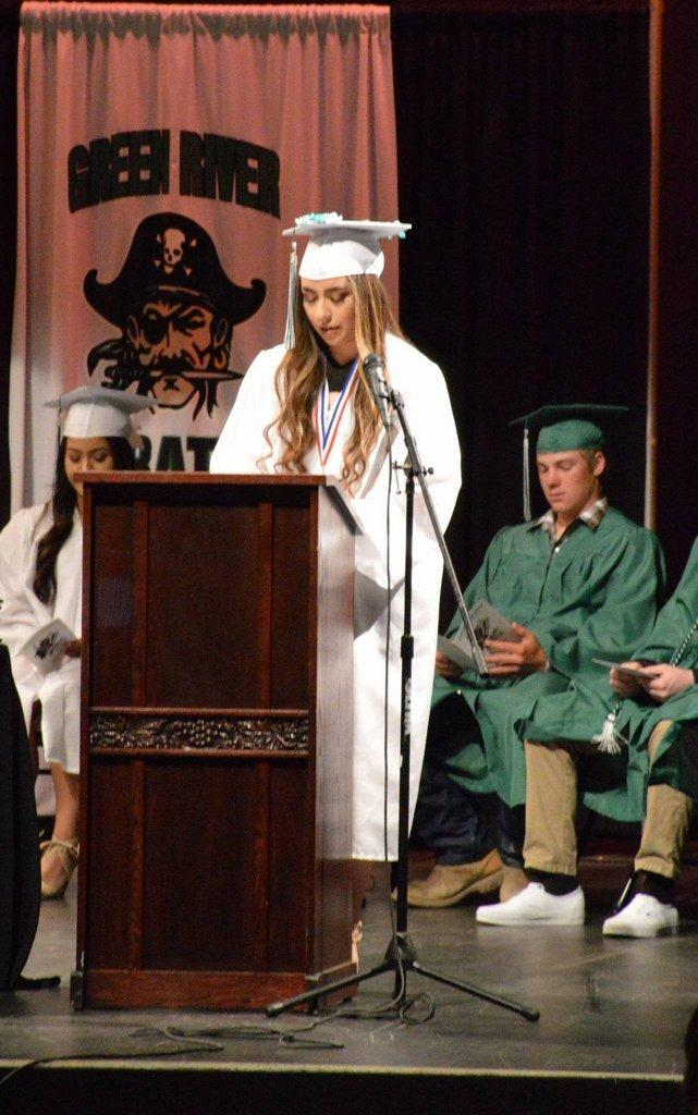 Green River Pirates Class of 2018 Graduates – ETV News