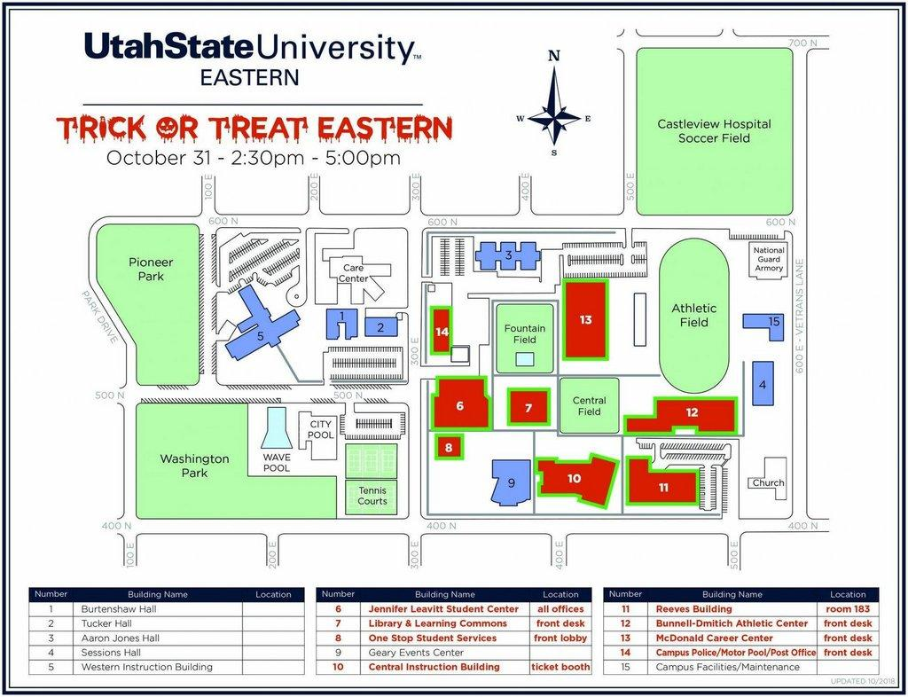 Don T Miss Out On The Campus Trick Or Treat Eastern Event Etv News