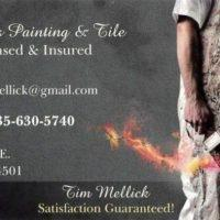 Timothy's Painting and Tile Licensed and Insured